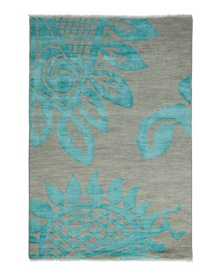 "Shalimar Collection Oriental Rug, 4'2"" x 6'"