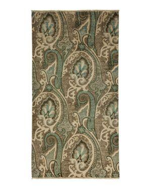 Suzani Collection Oriental Rug, 4'3 x 7'10
