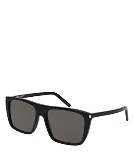Saint Laurent - Men's SL156 Rectangle Sunglasses, 56mm