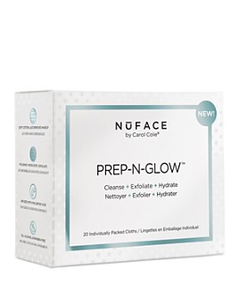 NuFace - Prep-N-Glow Cleansing & Exfoliating Cloths