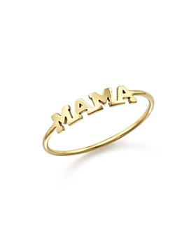 Zoë Chicco - 14K Yellow Gold Mama Ring