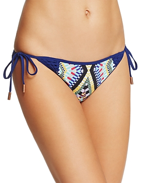Red Carter Tie Side Cali Bikini Bottom