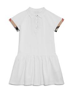 Burberry Girls' Piqué Drop-Waist Dress - Little Kid - Bloomingdale's_0