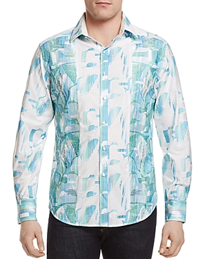 Robert Graham Limited Edition Sim Pier View Classic Fit Button-Down Shirt