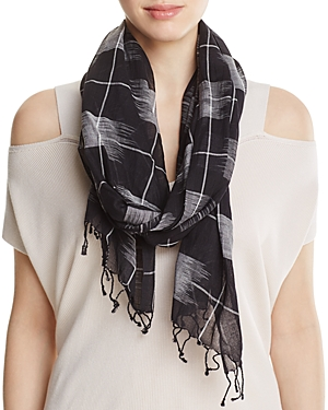 Eileen Fisher Windowpane Scarf at Bloomingdale's