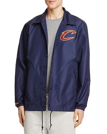 MITCHELL & NESS - Cleveland Cavaliers NBA Coach Jacket - 100% Exclusive