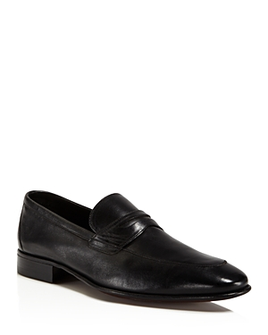 A.Testoni Penny Loafers