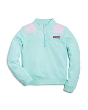 Vineyard Vines Girls' Shoulder Stripe Shep Shirt - Little Kid