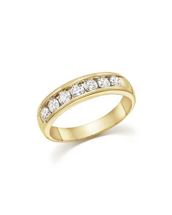 Bloomingdale's - Diamond Men's Band in 14K Yellow Gold, 1.0 ct. t.w. - 100% Exclusive