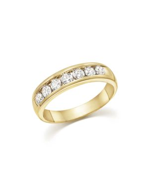 Diamond Men's Band in 14K Yellow Gold, 1.0 ct. t.w. - 100% Exclusive