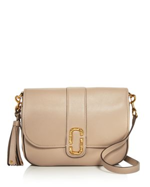 Marc Jacobs Interlock Courier Leather Messenger 2644628