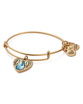 Alex and Ani - Water Expandable Wire Bangle ... 42dea8990404