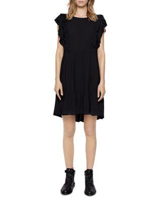 Dress Id Ranil 2626398 amp; Web black Zadig Voltaire CRzWTawWq