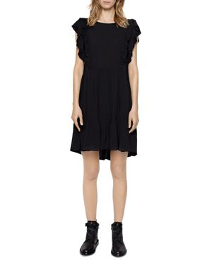 Zadig & Voltaire Rousseau Ruffled Dress