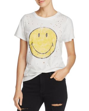 Daydreamer Smiley Face Vintage Tee