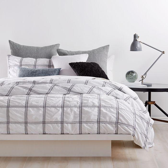 DKNY - Check Please Bedding Collection
