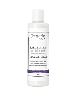 Christophe Robin - Antioxidant Cleansing Milk with 4 Oils & Blueberry 8.3 oz.