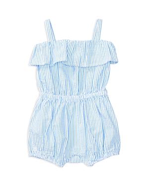 Ralph Lauren Childrenswear Girls Seersucker Striped Romper  Baby