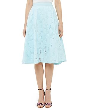 Ted Baker Floral Burnout Circle Skirt