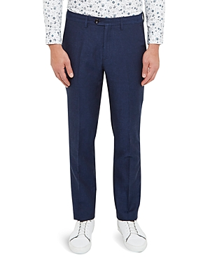 Ted Baker Maltro Regular Fit Linen Trousers