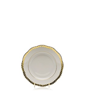 Herend - Golden Laurel Bread & Butter Plate