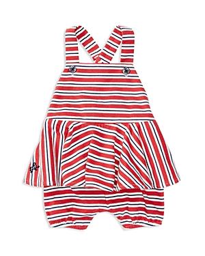 Ralph Lauren Childrenswear Girls' Striped Romper - Baby