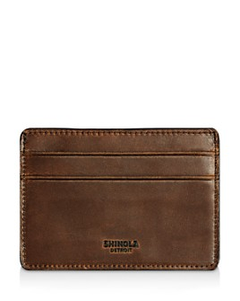 Shinola - Distressed Card Case