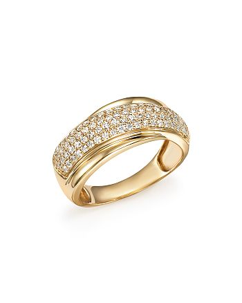 Bloomingdale's - Diamond Band Ring in 14K Yellow Gold, .50 ct. t.w. - 100% Exclusive