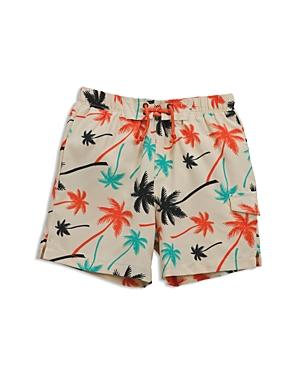 Sovereign Code Boys' Palm Print Swim Trunks - Little Kid