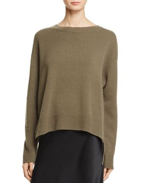Vince Lace-Up Cashmere Sweater