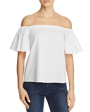 Aqua Off-the-Shoulder Top - 100% Exclusive