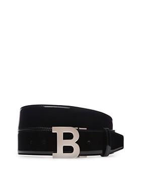 Bally - B Buckle Patent Leather Belt