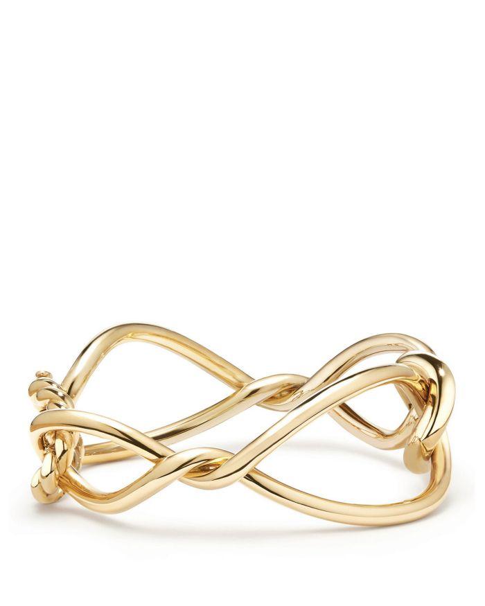 David Yurman Continuance Bracelet in 18K Gold     Bloomingdale's