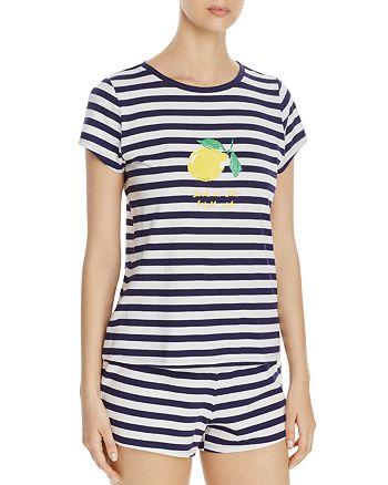 kate spade new york - Lemon Stripe Short PJ Set