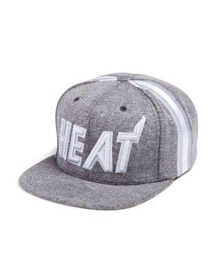 MITCHELL & NESS MIAMI HEAT FLEECE NBA HAT - 100% EXCLUSIVE