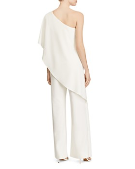 Ralph Lauren - Ruffle One-Shoulder Jumpsuit