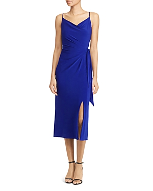 Lauren Ralph Lauren Faux Wrap Jersey Dress - 100% Exclusive