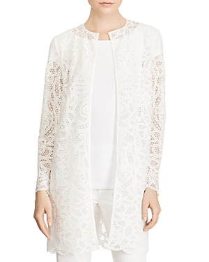 Lauren Ralph Lauren Lace Duster Jacket