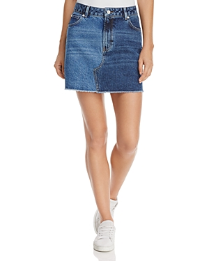 French Connection Allene Denim Mini Skirt