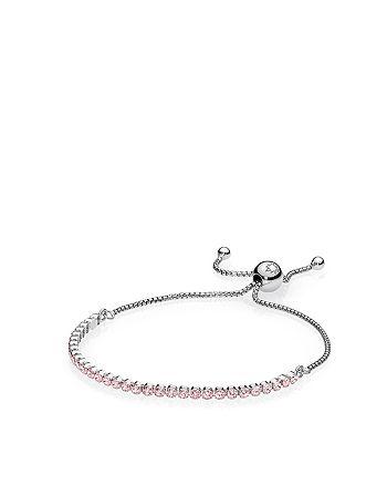 Pandora - Sterling Silver & Cubic Zirconia Sparkling Strand Bracelet