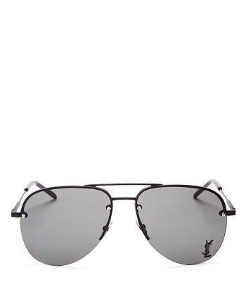 Saint Laurent - Women's Classic 11 Aviator Sunglasses, 59mm