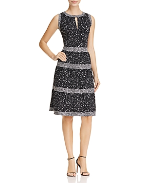 Michael Michael Kors Nora Floral Print Dress