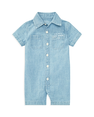 Ralph Lauren Childrenswear Boys' Chambray Shortall - Baby