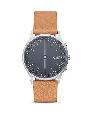 Skagen - Jorn Tan Leather Strap Hybrid Smartwatch, 41mm