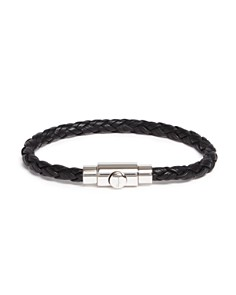 Salvatore Ferragamo Woven Bracelet with Prong Closure - Bloomingdale's_0