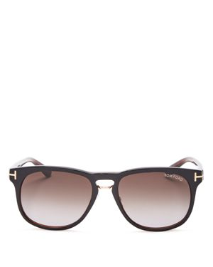 Tom Ford Franklin Square Sunglasses, 55mm