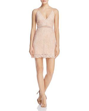The Jetset Diaries Hyacinth Lace Mini Dress