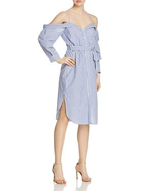 Bardot Paloma Cold-Shoulder Dress