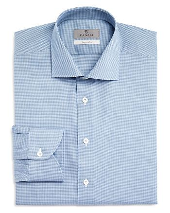 Canali - Impeccabile Micro Check Regular Fit Dress Shirt