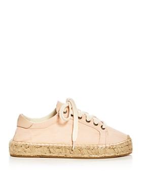 Soludos - Women's Tennis Espadrille Platform Lace Up Sneakers